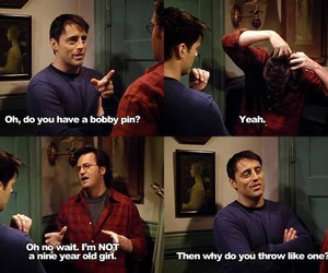 funny, friends, and Joey image