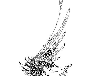 lineart and tattoo image