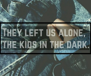 all time low, alone, and band image