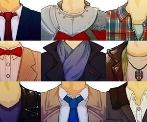 arthur, dean winchester, and doctor who image
