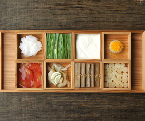 asian, bento, and box image