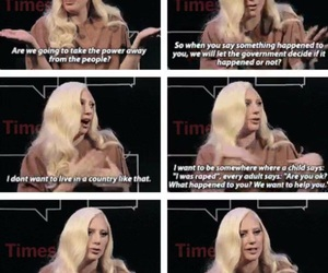 Lady gaga, quote, and true image