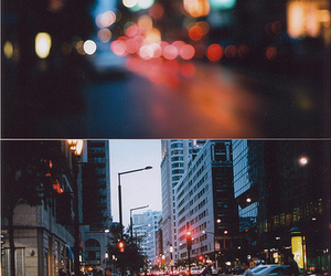 city, light, and photography image