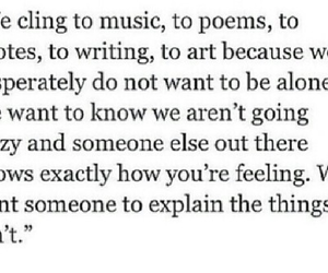 quote, music, and poems image