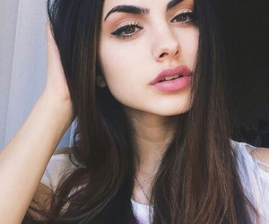 beautiful, face, and girl image