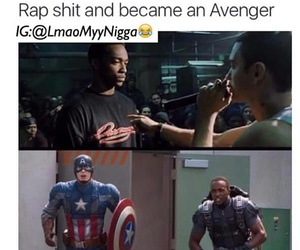 funny, Avengers, and quote image