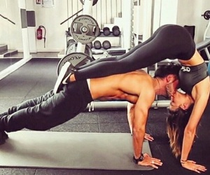 couple, fitness, and motivation image