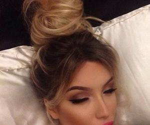 hair, makeup, and eyebrows image