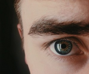 eyes, connor franta, and eye image