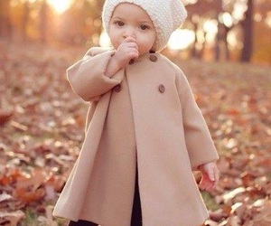 baby, autumn, and child image