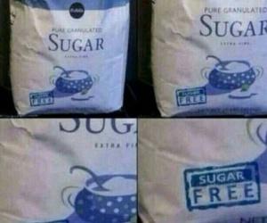 funny, sugar, and lol image