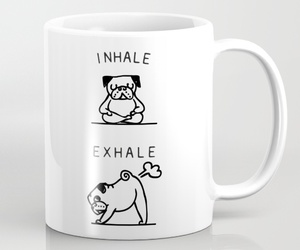 fart, exhale, and pug image