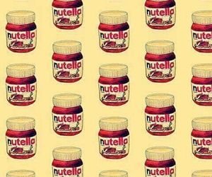 background, nutella, and wallpaper image