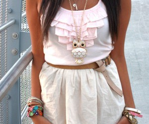 fashion, dress, and owl image