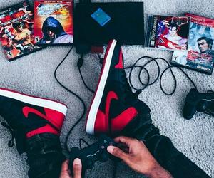 PS2, tekken, and jordan 1 image
