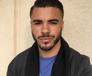 beard, boy, and interracial image