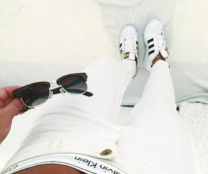 adidas, white, and Calvin Klein image