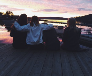 girls, happy, and norway image
