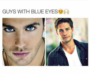 blue eyes and boys image