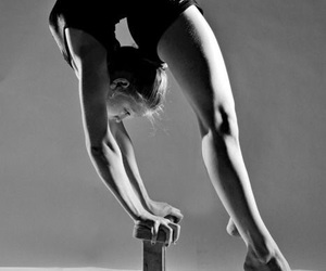 beautiful, flexible, and gym image