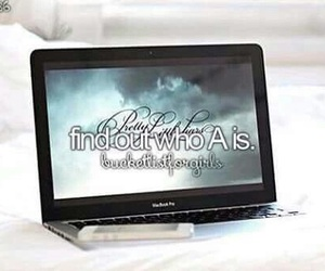 pretty little liars, a, and bucket list image
