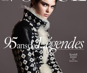 kendall jenner, vogue paris, and model image