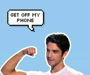 teen wolf, wallpaper, and tyler posey image