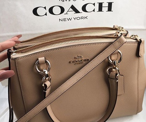 fashion, coach, and bag image
