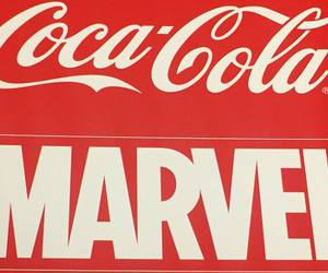 cola, drink, and marvel universe image