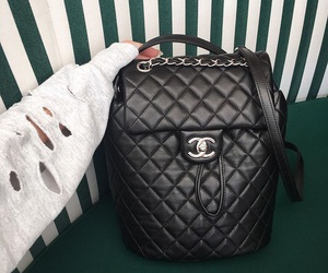 chanel, style, and black image