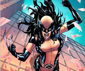 girl, Marvel, and woman image