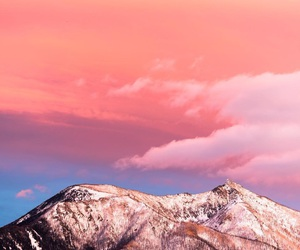 amazing, mountains, and pink image