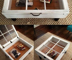 table, diy, and window image