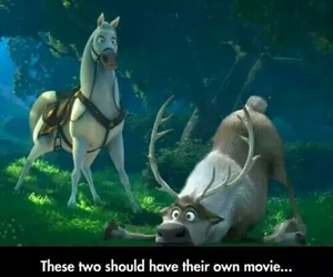 frozen, Maximus, and tangled image