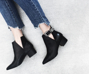 ankle boots, booties, and fashion blogger image