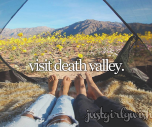 death valley and travel image