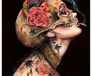 Brian Viveros, girl, and illustration image