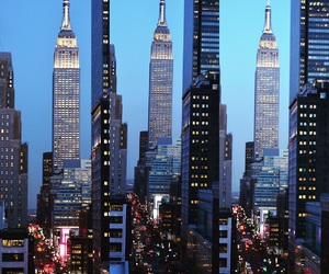 easter, empire state, and nyc image