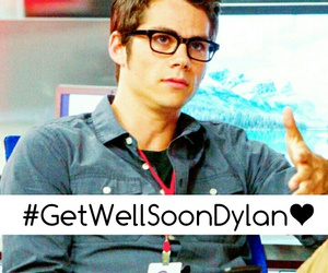 dylan obrien, perfect, and pray for dylan image