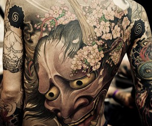 tattoo, boy, and japanese image