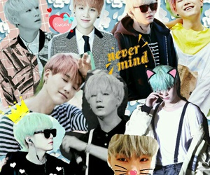 Collage, kpop, and bangtanboys image
