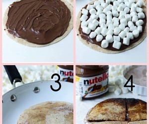 diy, nutella, and food image