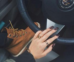 nails, fashion, and car image