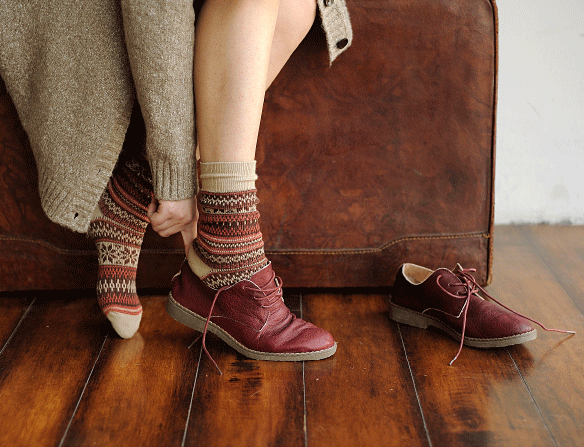 shoes, socks, and autumn image