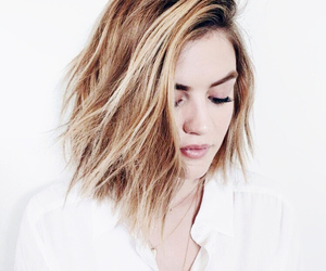 lucy hale, pll, and blonde image