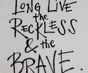 all time low, Lyrics, and brave image