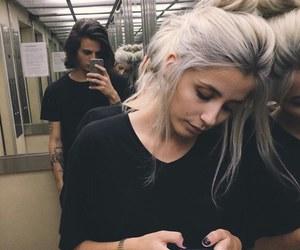 couple, grunge, and tumblr image