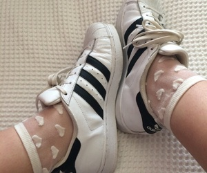 adidas, grunge, and heart image