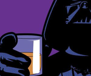 pop art and star wars image