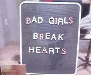bad, hearts, and break image